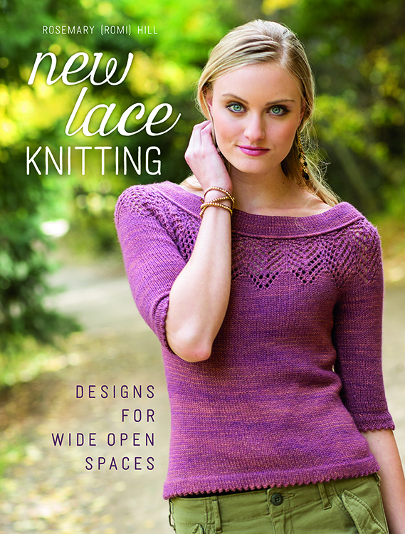 If you like knitting lace, then you'll love New Lace Knitting that includes 19 lace garment and accessory designs using classic stitch patterns in new ways!