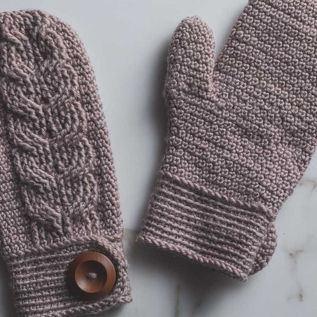 The Venturesome Mittens use a new yarn. | Photo Credit: Harper Point Photography
