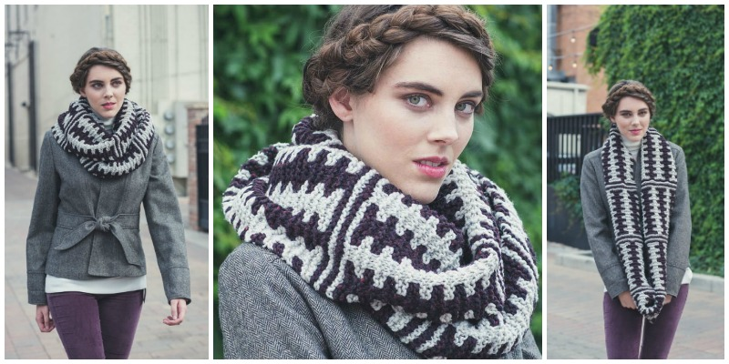The Newcastle: A Colorwork Cowl that Only Looks Complex