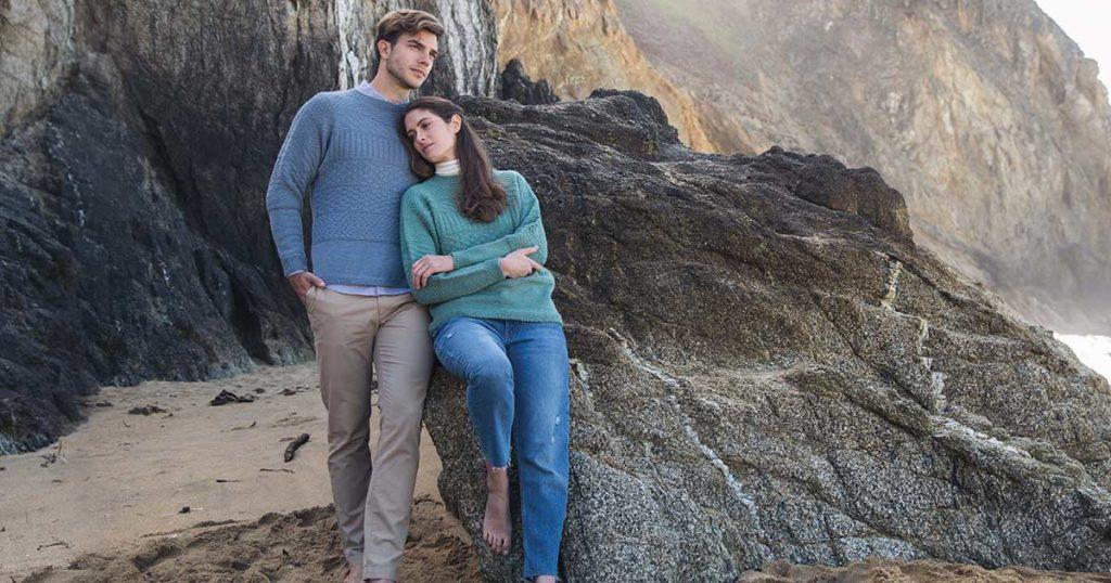 <em>Knitting Ganseys Revised and Updated</em>: Newhaven Gansey Pullover