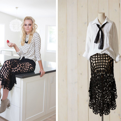 Nightshade Crochet Skirt