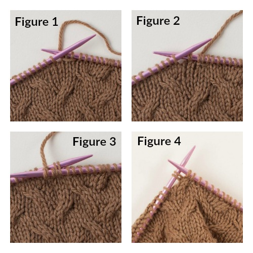 knit cables without a cable needle