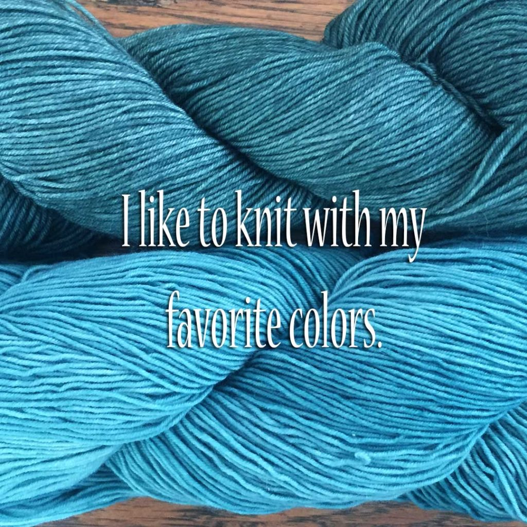 Forget about buying a knitter yarn.