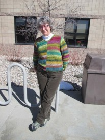 Noro Sweater Front