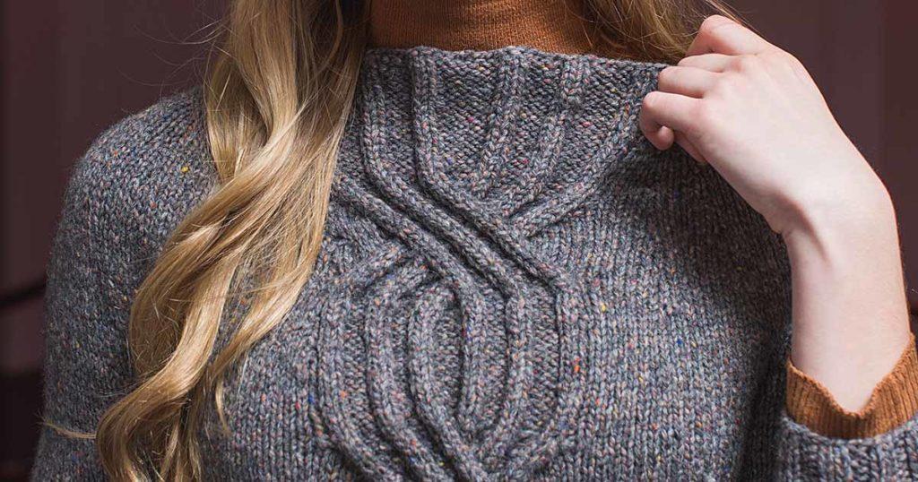 <em>knitscene</em> Fall 2018: Olivia Sweater