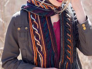 Obion Scarf Crochet Pattern