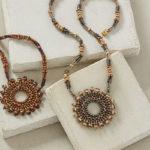 <em>Beadwork</em> Medallion Sizing for Michelle Gowland's Caliente Bracelet Pattern