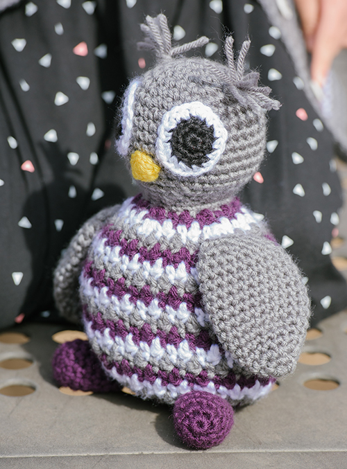 Ollie the Owl Toy Frochet Pattern