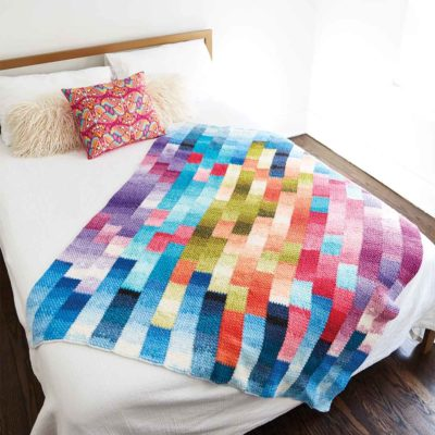 Ombre Stripe Blanket