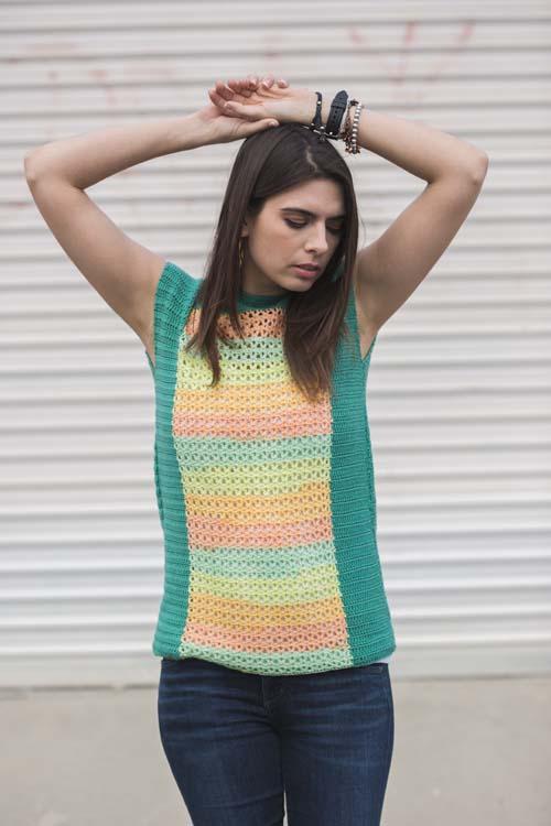 Opaline Top from Interweave Crochet Summer 2016