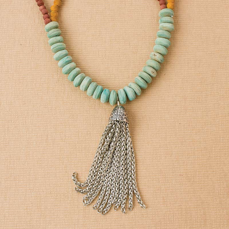 How to Make a Chain Tassel, Step by Step
