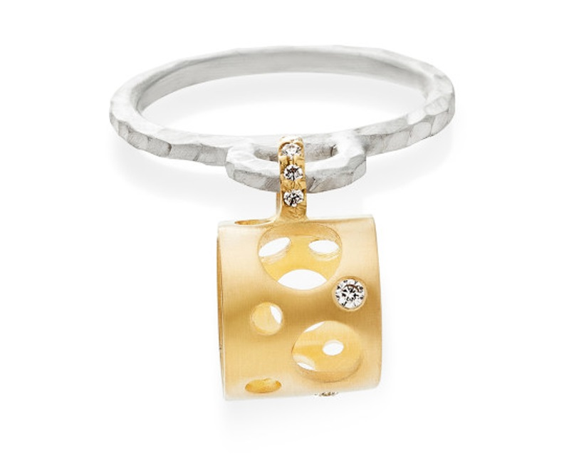 jewelry trends: openwork ring designed by Dana Bronfman