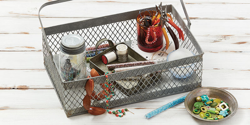 This basket is a great tool to help organize any area of your workspace and home.