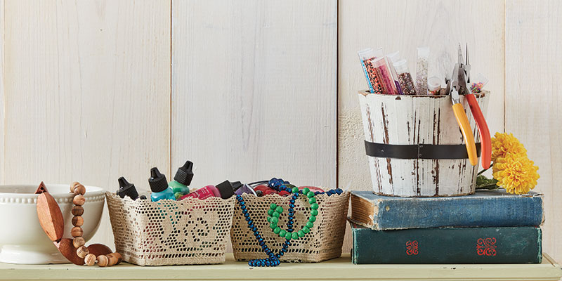 5 Easy (and Inexpensive!) Tips to Help Organize Your Craft Space