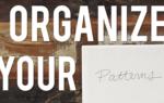 Interweave Yarn Hacks: Organize Knitting Patterns