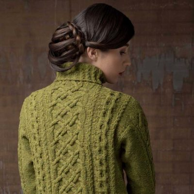knitted cables can be found in the oxford street pullover