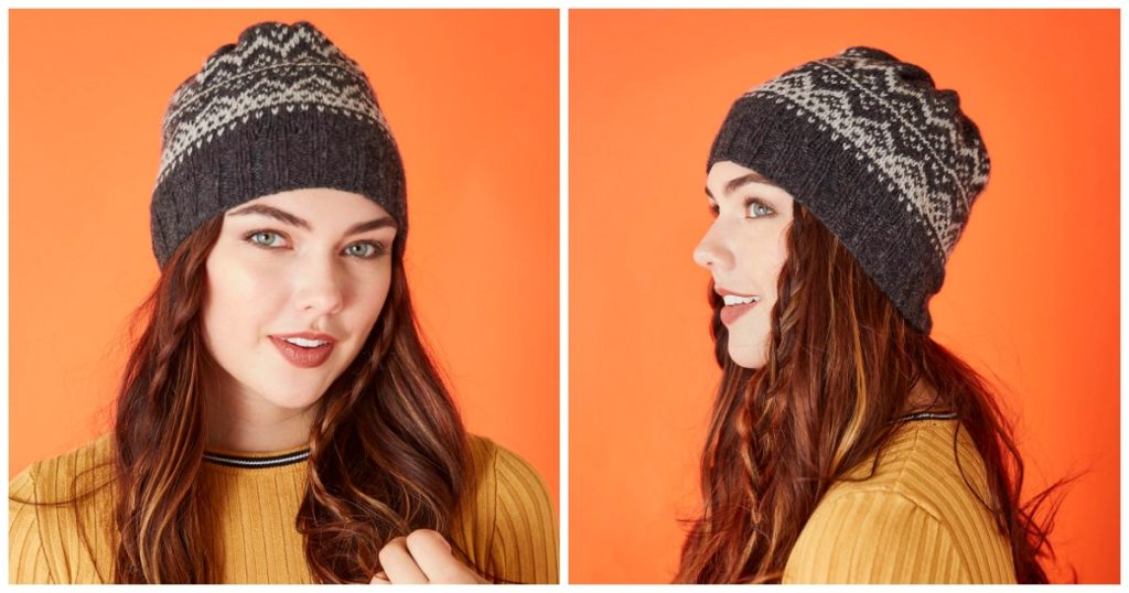 Pattern of the Week: Snowy Peaks Hat