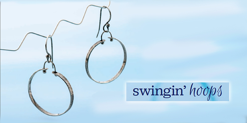 Favorite Project of the Week: Swingin' Hoops Earrings
