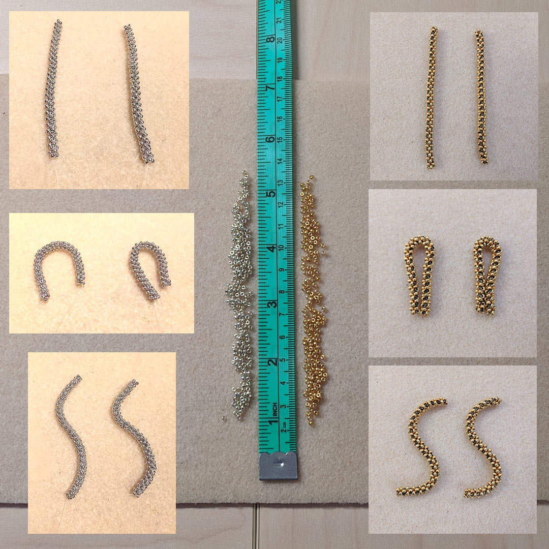 Bead Experiment Praw Versus Tubular Raw With Michelle Leonardo Pin By Cindy Buchanan On Diy Pinterest