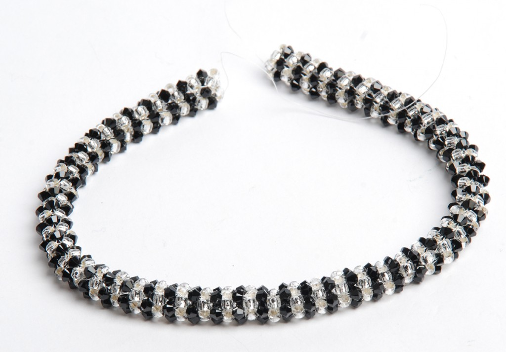 PRAW beaded rope, PRAW beaded bracelet by Tammy Honaman