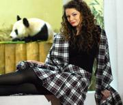 Edinburgh Zoo Panda Tartan and Tian Tian