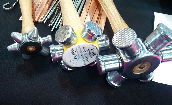 jewelry making tools: ParaWire multi-head hammers