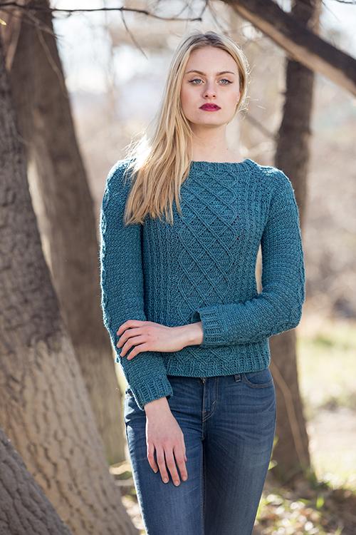 Passaic Pullover Crochet Pattern Crochet Sweater