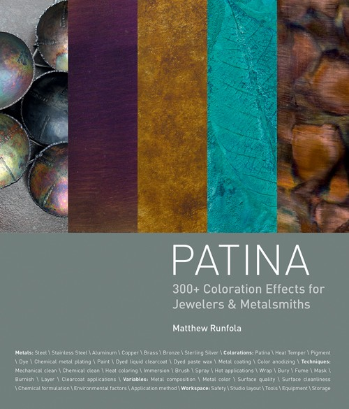 Top 10 Jewelry-Making Books from Interweave Editors. Patina by Matthew Runfola