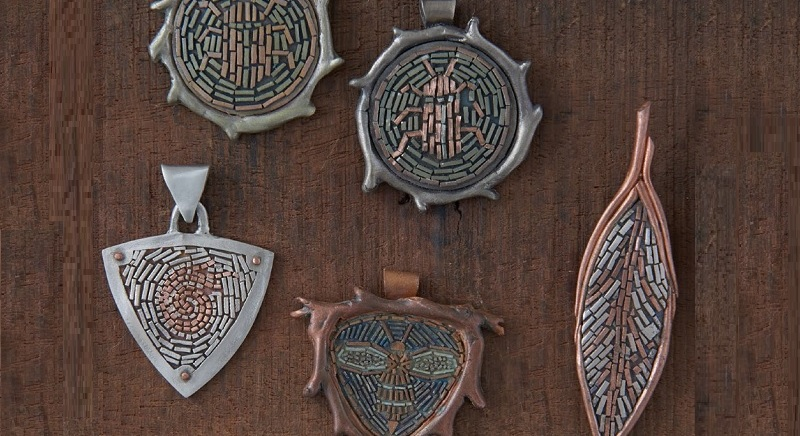 6 Tips for Metal Clay Jewelry: How to Create Metal Clay Micromosaics with Patrik Kusek