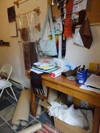 Pattie's studio