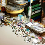 A Bead Studio to Make You Green with Envy: Regina Payne's Fantastic Beading Space