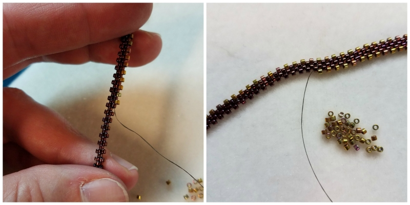 Tips I Learned While Stitching Our Latest Beadwork Kit