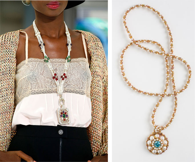 Jewelry trends from the red carpet to your own jewelry box. Learn how to make your own versions through the words of the experts.