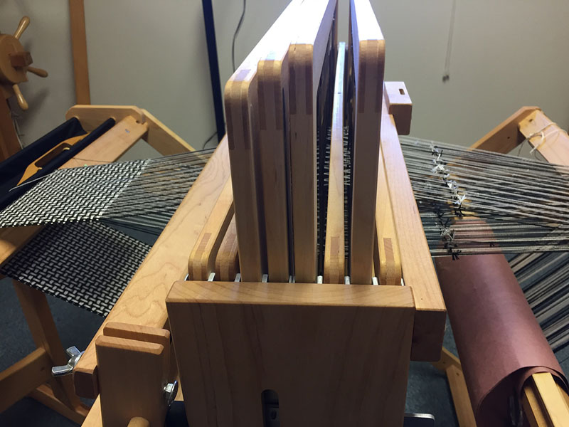 More about tying on new warps