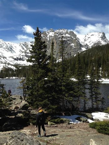 Loch Vale, Rocky Mountain National Park (Photo credit: Leah Mortenson)