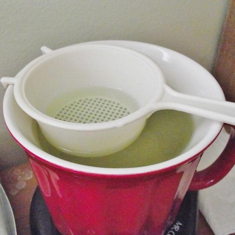 strainer pickling solution
