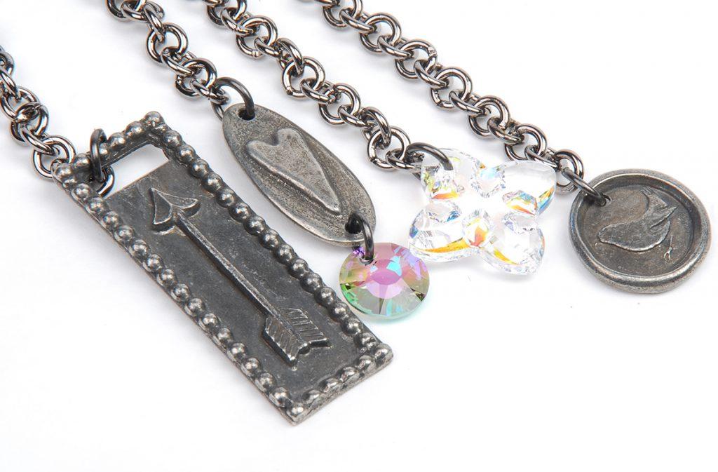Mixed Meida Jewelry Tassel Project by Tammy Honaman 10 Favorite Pink Jewelry Projects, mixed media jewelry, beadweaving, beading, tassels