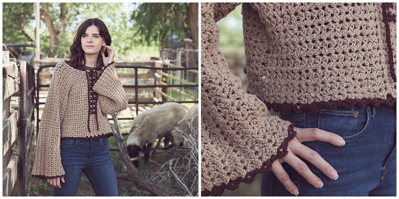 boho chic crochet
