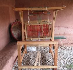 A loom in Pitumarca, Peru