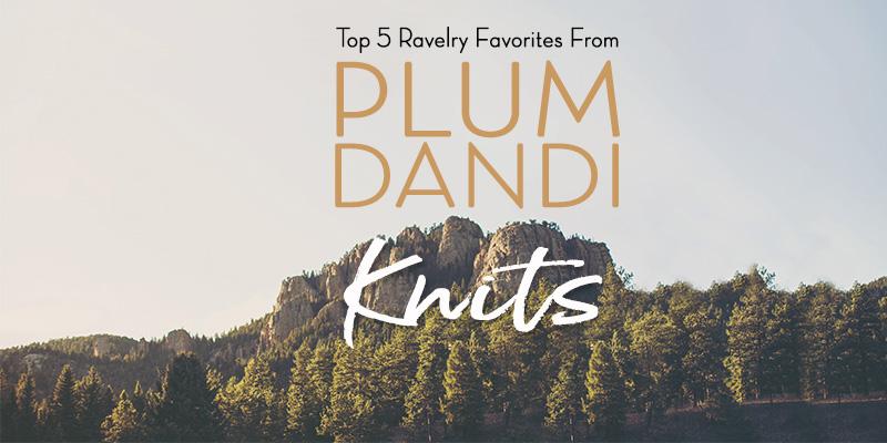 Top 5 Ravelry Favorites from <em>Plum Dandi Knits</em>
