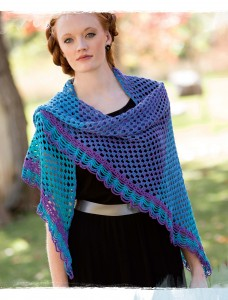 Innisfree Crochet Shawl from Poetic Crochet