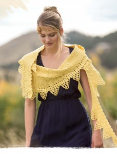 Jessamine Crochet Shawl from Poetic Crochet