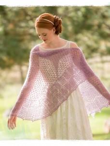 Orisons Crochet Shawl from Poetic Crochet