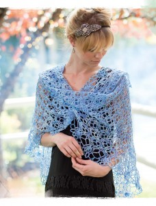 Skylark Crochet Shawl from Poetic Crochet