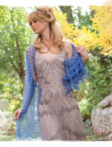 Tintern Crochet Shawl from Poetic Crochet