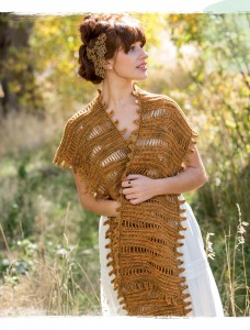 Tyger Crochet Shawl from Poetic Crochet