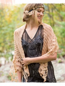 Windhover Crochet Shawl from Poetic Crochet