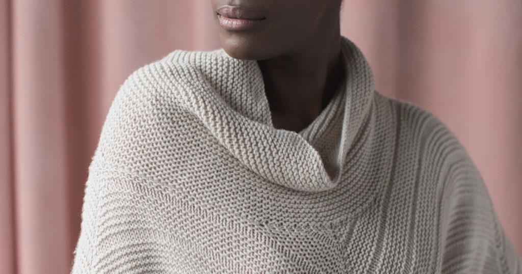 <em>knit.wear</em> Fall/Winter 2018: Point Gray Poncho