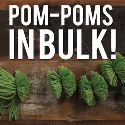 yarn hack pom-pom