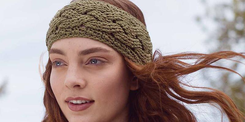 POW: New to Crochet Cables? Try the Ponderosa Headband!
